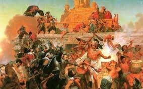 Caida de tenochtitlan