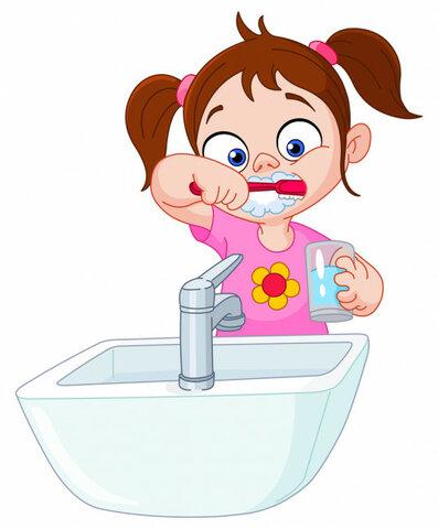 22:50, se brosser les dents