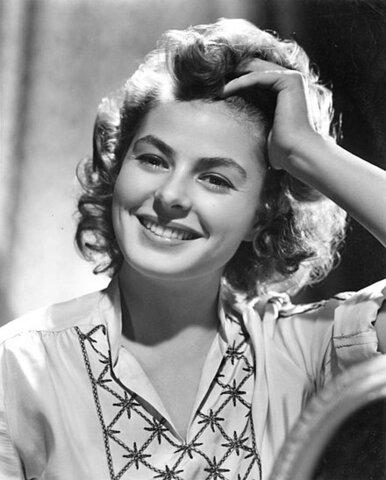 Ingrid Bergman (1915-1982).