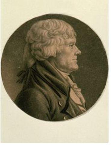 President Jefferson's Inauguration