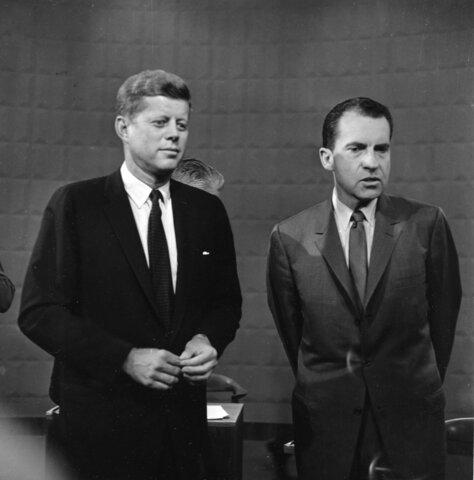 Nixon-Kennedy Debates (1st on Television)