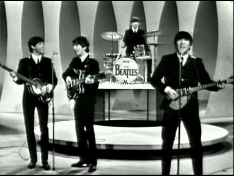 The Beatles Appear for the first time on the Ed Sullivan Show