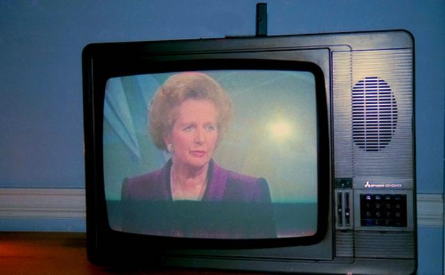 la primera television de mi familia