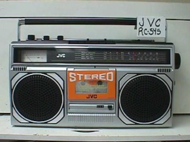 Nuestro primer radiocassete