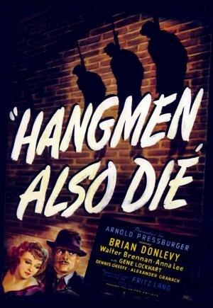 """""""Los verdugos también mueren"""" por Fritz Lang."""