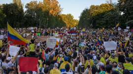 PORTADAS EN LAS PROTESTAS DE CALI 2021 ADN timeline
