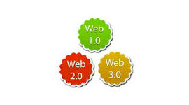 Evolución de la web 1.0 hasta la 3.0 timeline