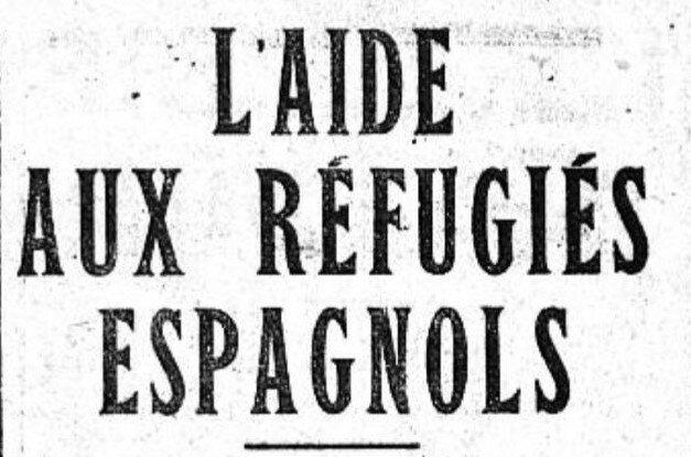 Refugiés Espagnols