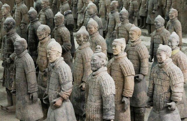 Exèrcit de guerrers de terracota