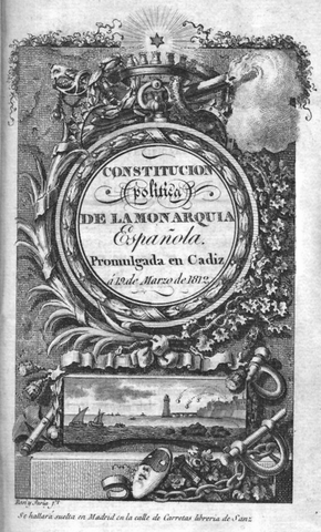 Constitución española de 1812.