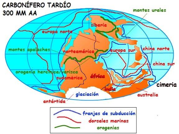 Carbonífero tardío