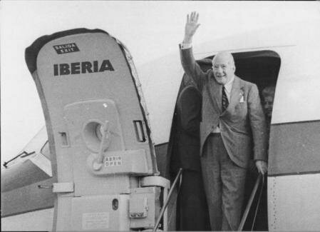 Regreso de Josep Tarradellas.