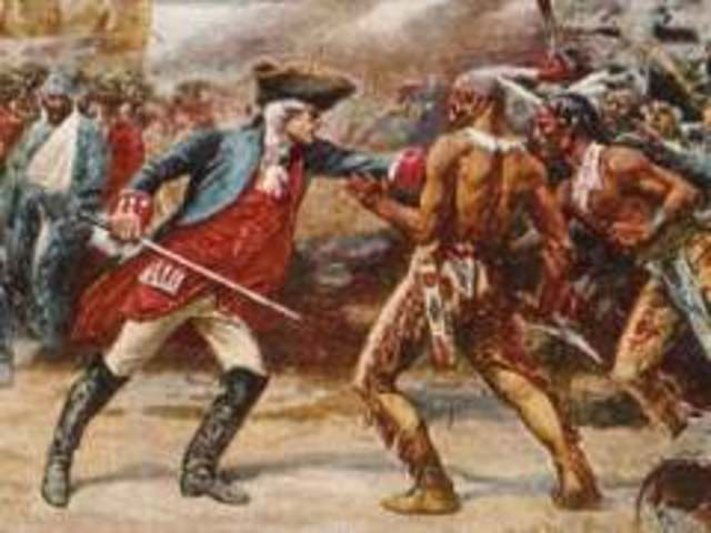 French and Iroquois War Starts
