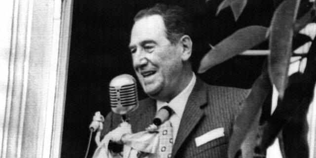 Juan Domingo Perón, presidente en Argentina
