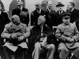 La Reunión para terminar la segunda guerra mundial