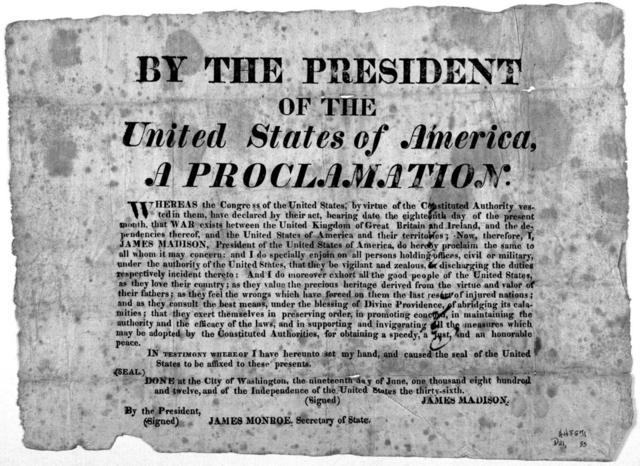 Déclaration de guerre des États-Unis
