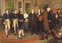 Signature du traité de paix
