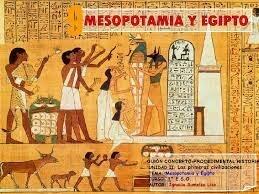 ADMINISTRACION SURGE EN MESOPOTAMIA Y EGIPTO