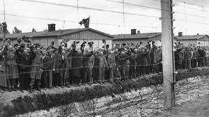 Arriving at the Concentration camp