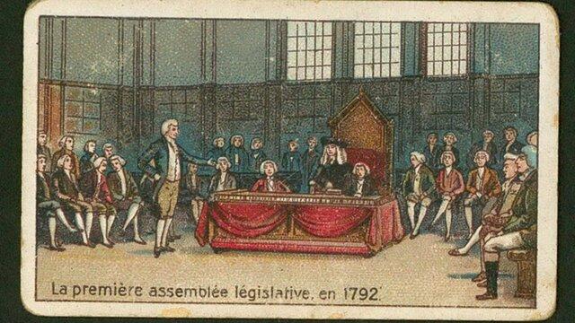 première élection législative
