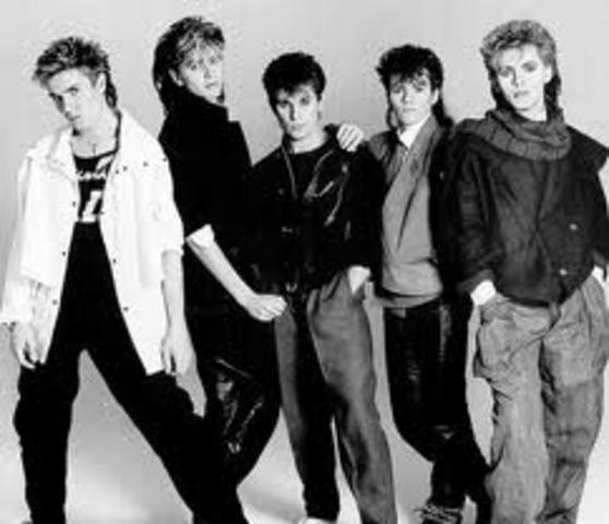 Kledingstijl jaren 80