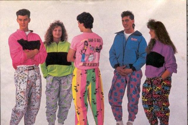 Kledingstijl jaren 90