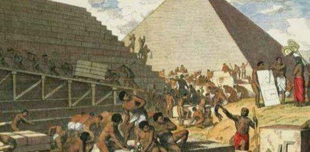 Construcción de las pirámides