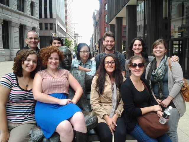 Downtown Baltimore Partnership tour