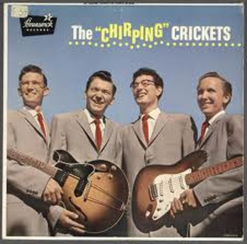 """""""That'll Be the Day"""" by Buddy Holly and The Crickets becomes a US #1 hit"""