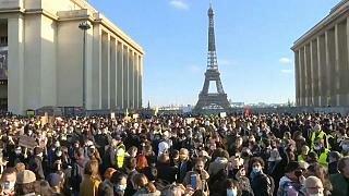 Protestas Contra la Globalización en Francia