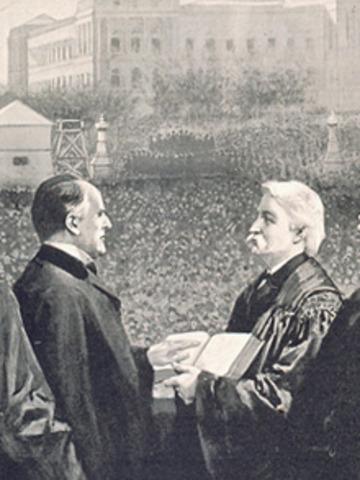 McKinley inauguration