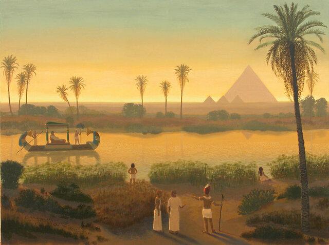 Egipcios (4000 A.C - 2000 A.C)
