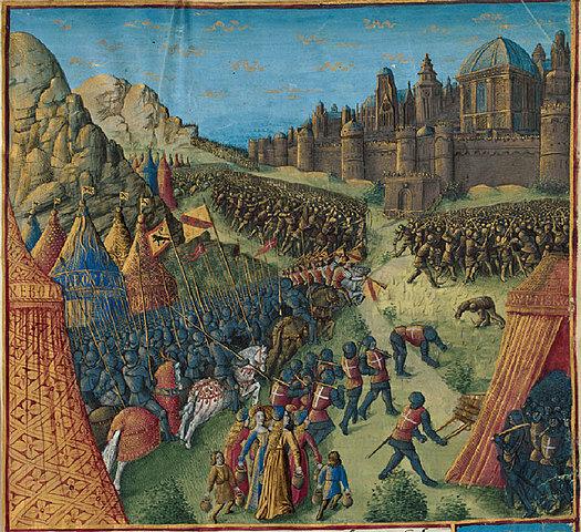 Ejercito medieval (siglos V - XV)
