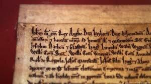 Firma de la carta magna