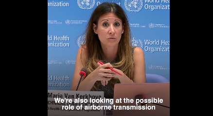 WHO Announces COVID-19 Can Be Airborne