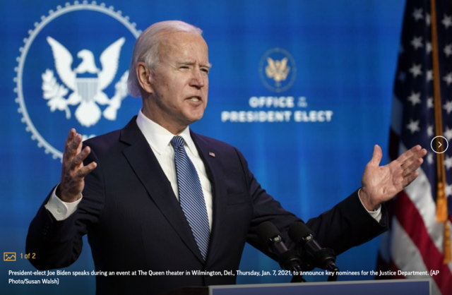 With virus surging, Biden to speed release of COVID vaccines