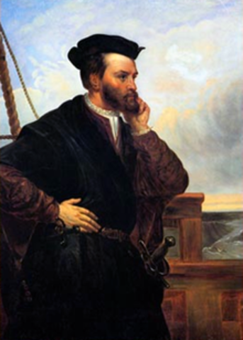 Population- Jacques Cartier's first voyage to America