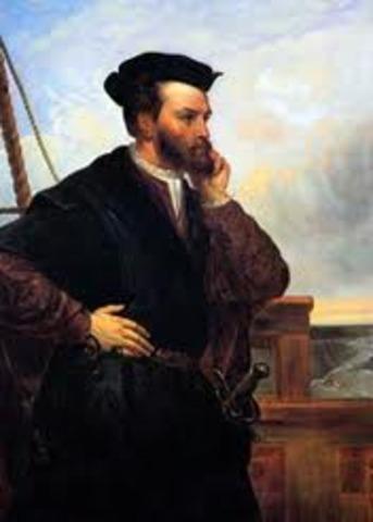 Jacques Cartier's 1st Voyage