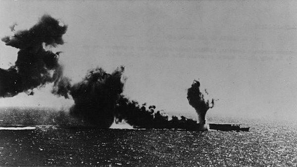 Batalla del mar del Coral.