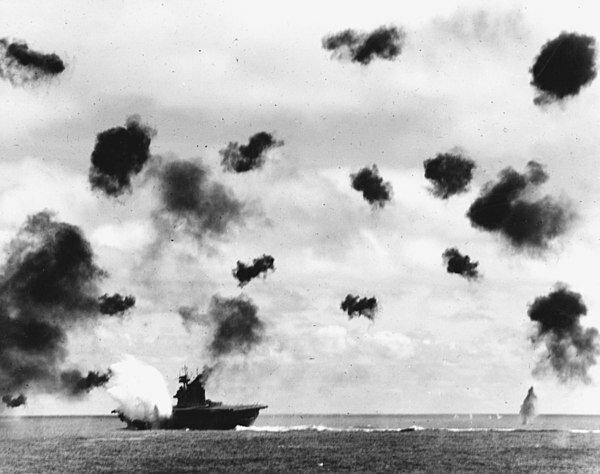 Batalla de Midway.