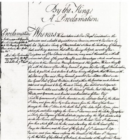 Power- The Royal Proclamation