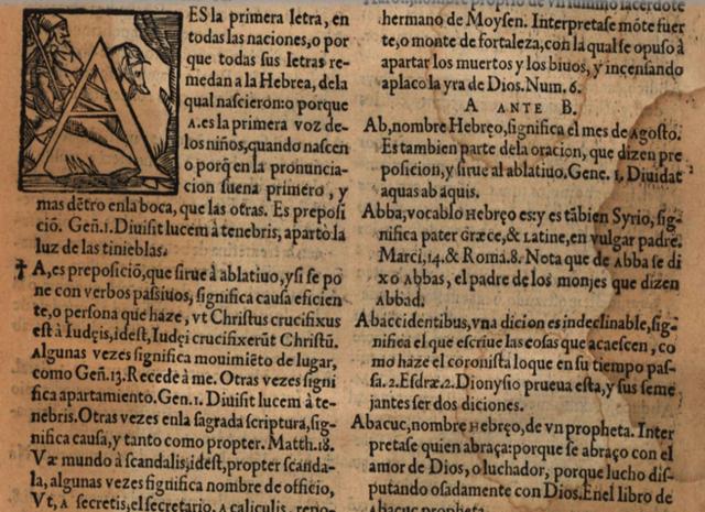Vocabularium eclsiasticum de Rodrigo Fernandez de Santaella