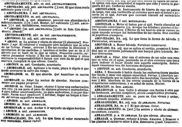 Diccionario de la lengua castellana por la Academia Española de Salvá
