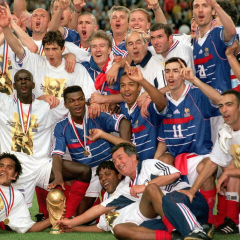 Campeón Francia del mundial: Francia 1998