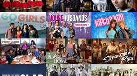 History of popular culture television timeline in Australia