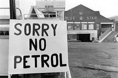 Inizio della crisi petrolifera
