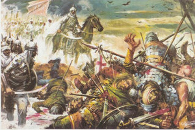 Conquista musulmana de la Península Ibérica.