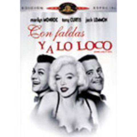 """""""Con faldas y a lo loco"""", con Marilyn Monroe"""