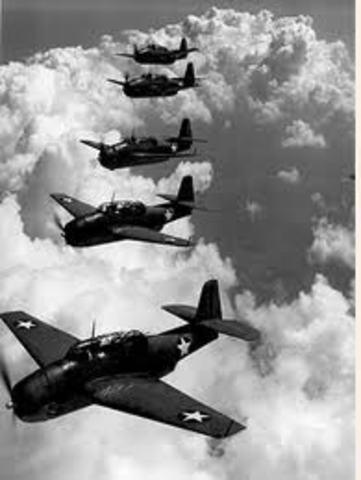 Inicio de la Segunda Guerra Mundial.