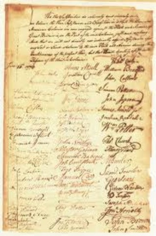 The Test Act in 1673